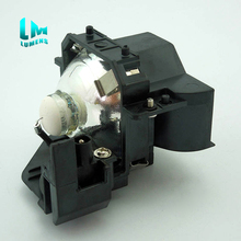 for ELPLP33 V13H010L33 With Housing Replacement Projector Lamp For EPSON EMP S3 EB X72 EB W8 EB S8 EH TW450 EB W7 EB S7