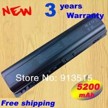 DV2000 Батарея 5200 мАч для HP pavilion dv6000 G6000 G7000 Compaq Presario V3000 V6000 A900 C700 F500 F700 Бесплатная доставка