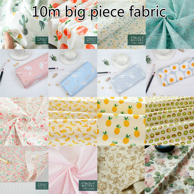 High Quality 160cm X10m Floral Twill Cotton Fabric DIY Childrenu0027s Bedding Cloth Bed  Sheets, Pillowcases Cloth On