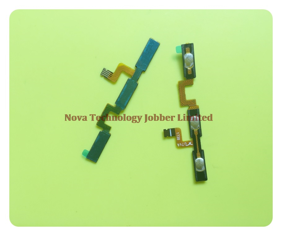 Wyieno A330 Switch on off Volume Ribbon For ZTE Blade A330 Power Button Flex Cable Replacement