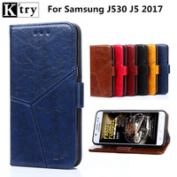 For Samsung Galaxy J5 2017 Case Cover Flip PU Leather Wallet Cover Case For Samsung Galaxy