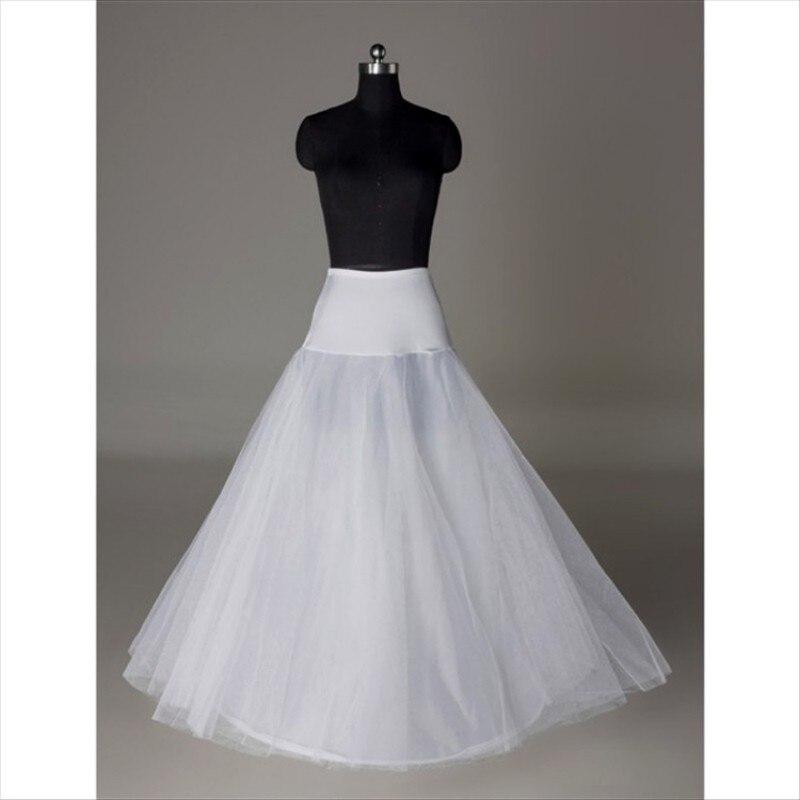 Hot Sale 1 Hoop A Line Bone Petticoats For Wedding Skirt