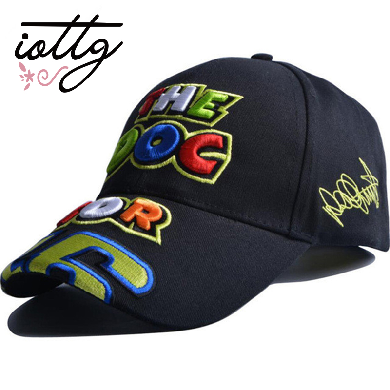 IOTTG 2017 New Embroidery VR46 Baseball Cap MotoGP F1 Men's Car Racing Cap Motorcycle Cap Fast Delivery