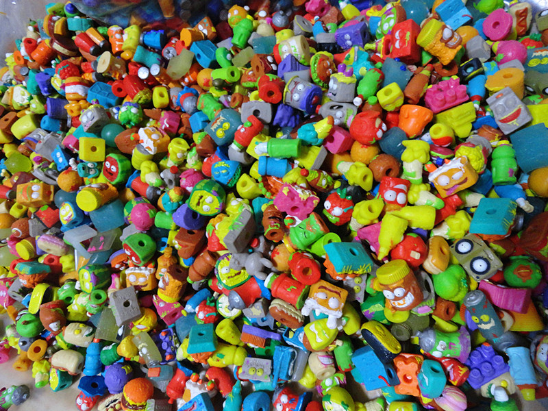 Kids Playing Model Dolls Factory Wholesale The Grossery Gang Mini Action Toys Figures Christmas Gift Free Shipping 1000Pcs/lot