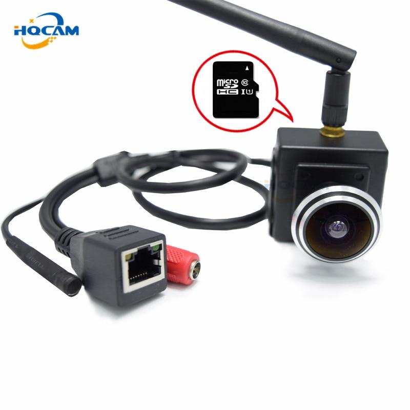 HQCAM 960P Audio wireless webcam mini ip camera Micro TF SD Camera Wireless Network IP wifi Camera wi-fi CAMHI support microphon