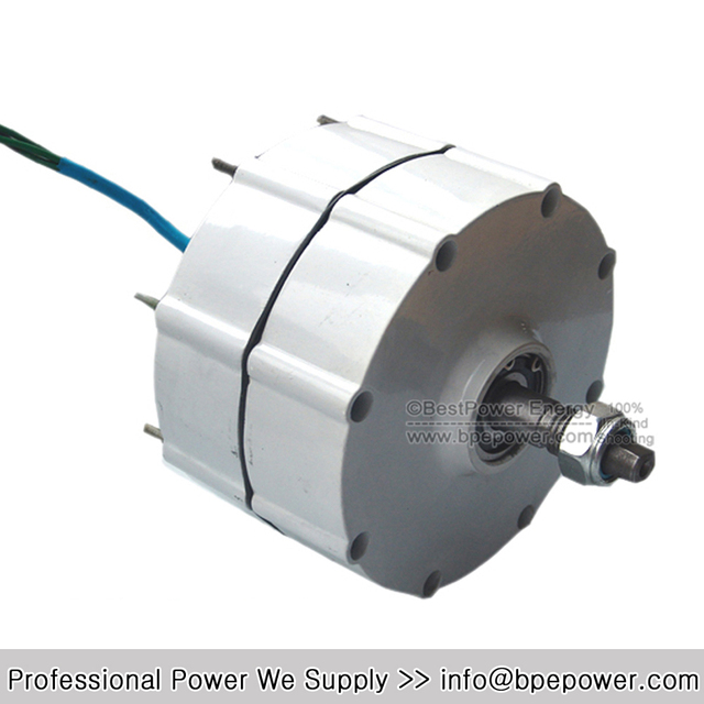 HOT SAEL!! 600W AC12V/24V Permanent Magnet Alternator, Quality Power Generator for Wind Turbine