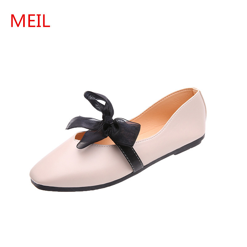 2018 spring Flats Shoes women PU Leather Ladies casual Shoes Women Comfortable Soft loafers woman slip on shoes for women vtota fashion spring autumn women flats 2017 shoes woman slip on casual shoes soft comfortable women shoes new ladies shoes x48