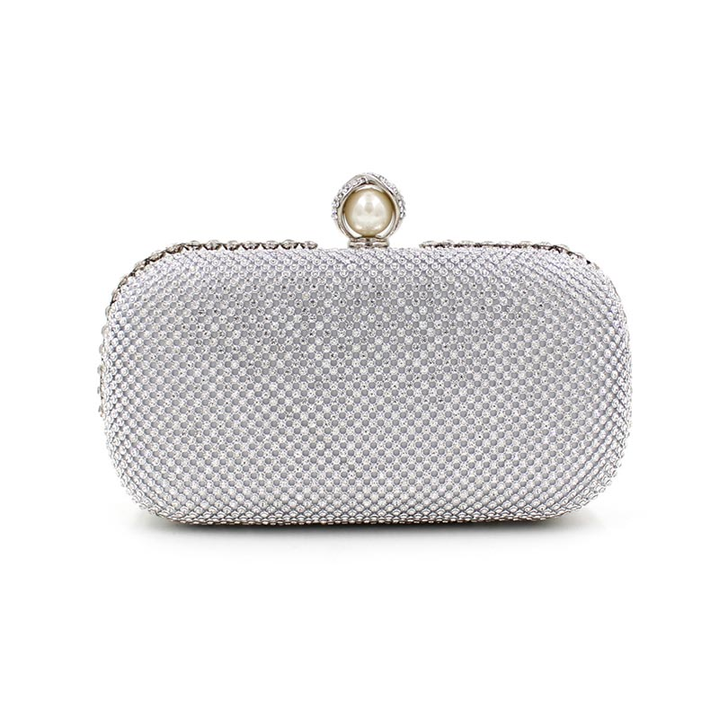 Popular Silver Clutches-Buy Cheap Silver Clutches lots from China ...