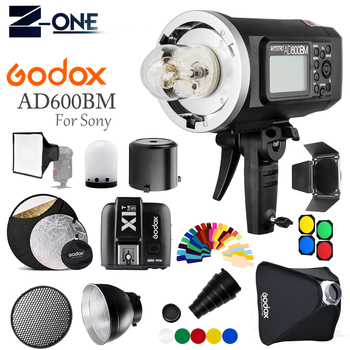 Godox AD600BM Bowens Mount 600Ws GN87 1/8000 HSS Outdoor Flash Strobe Monolight with X1T-S Wireless Trigger for Sony+Gift kit