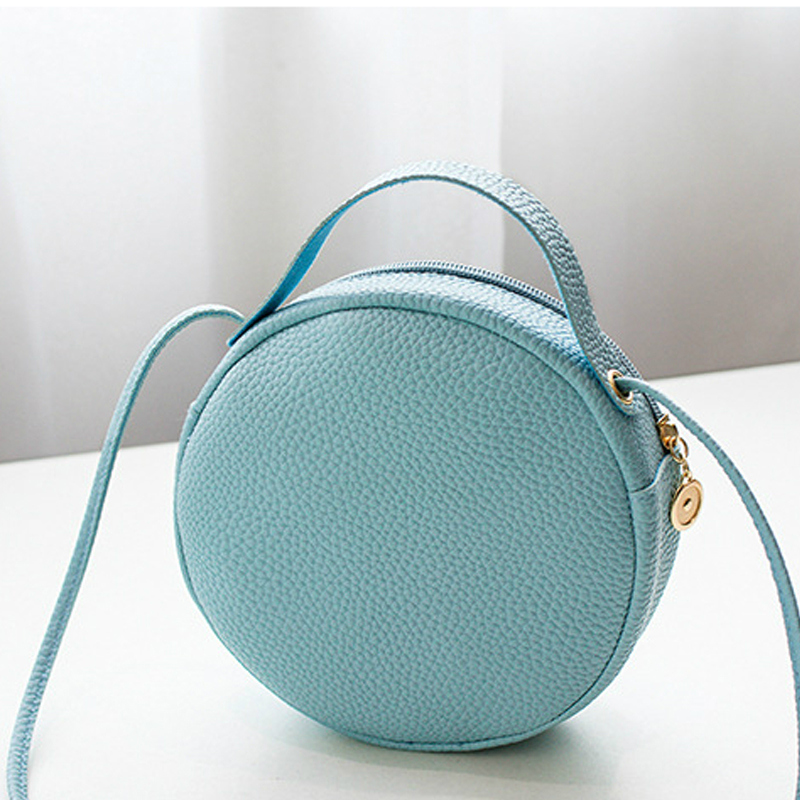3D Bee Vegan Leather Crossbody Shoulder Messenger Bags For Women Bolsa Feminina Cymka Round Bag Purses And Handbags