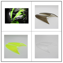 for KAWASAKI ZX-10R ZX10R 2016 2017 Motorcycle Accessories ABS Headlight Protector Cover Screen Lens motorcycle rubber gripper soft seat cover for kawasaki kx85 kx100 01 02 03 04 05 06 07 08 09 10 11 12 13 14 15 16 2001 2016