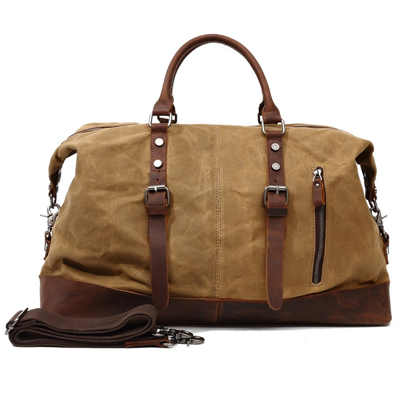 Sports Bag for Men Large Texture Feathers Colors Traditional Mens Overnight Bag with Shoe Compartment for Women Handbag
