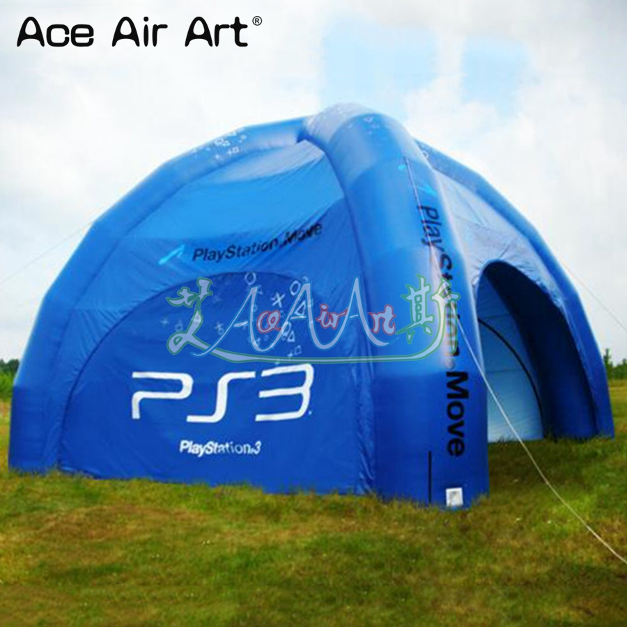 low priced 6b9f4 39b49 US $960.0 |Hot sale giant inflatable spider trade tent/ dome marquee,car  cover shelter with removable zipper walls open all sides for sale-in Toy ...