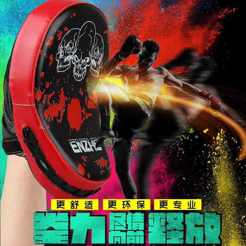 Hot Boxing Mitt MMA Target Focus Punch Pad Training Glove Karate Thai Kick Muay
