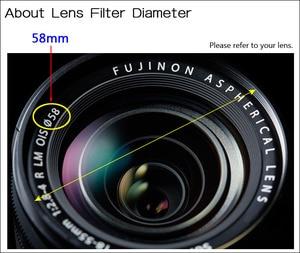Image 2 - Camera Lens Filter Variabele Neutral Density Nd Filter 37 40.5 46 49 52 55 58 62 67 72 77 82mm Voor Canon Nikon Sony Fujifilm Dslr