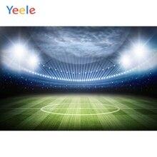 Yeele Sports Photography Backdrops Light Soccer Football Match Field photographic backgrounds For Photo Shoots Studio Photobox
