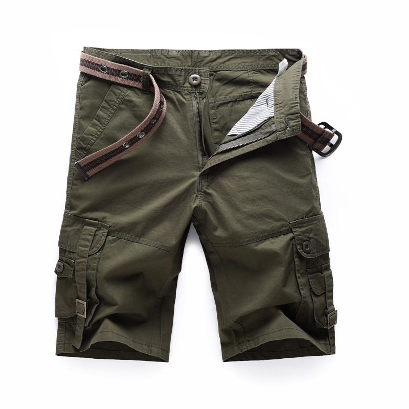 2017  Men Short Shorts Mens Shorts Army Green,black,khaki Color  Mens Military Cargo Shortsplus Size 28-38 2016 in the dark luminous earphones in ear flash light glowing earbuds with mic neon night light universal