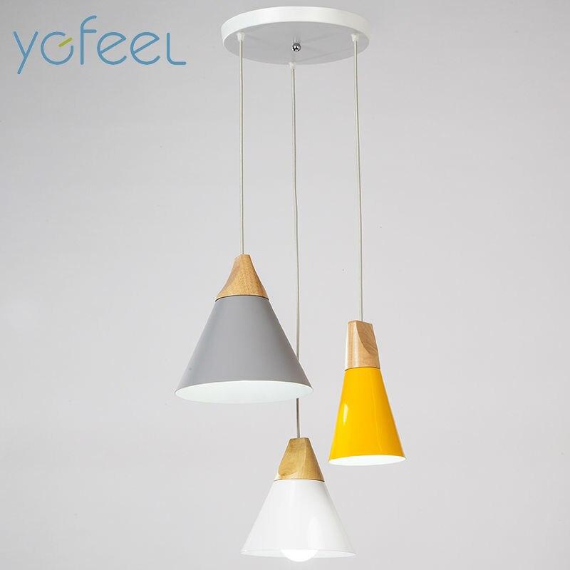 [YGFEEL] современный Обеденная подвесной светильник 3 головы круглый/прямоугольник Потолочная пластина Indoor Гостиная Спальня украшение лампы