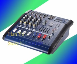 Mixer with Bluetooth Amplifier PMX402D Stage Microphone USB Mixer