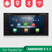 Bosion Android 7.1 2 Din car radio Car DVD GPS for Toyota CAR radio wifi ROM support Digital TV/Analog TV/OBD/TMPS