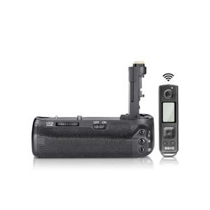 Image 2 - Meike MK 6DII Pro Batterie Griff Eingebaute 2,4G Fernbedienung für Canon 6D Mark II Als BG E21