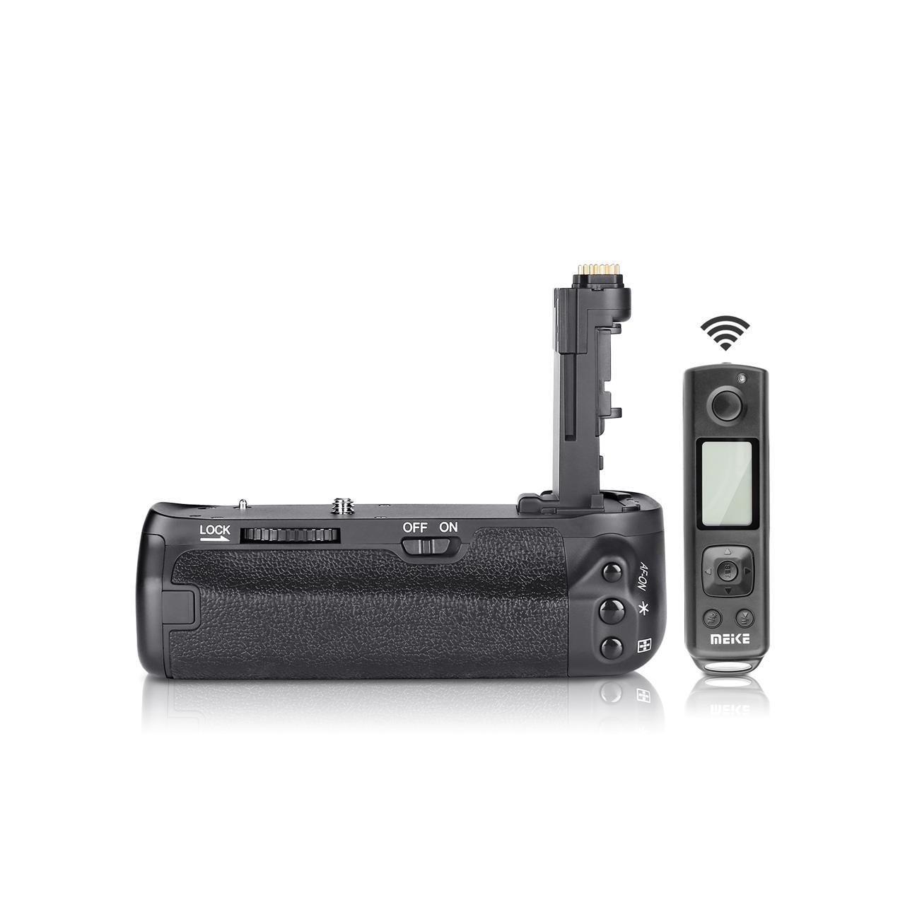 Meike MK-6DII Pro Battery Grip Built-in 2.4G Remote Control for Canon 6D Mark II As BG-E21 meike mk 760d pro built in 2 4g wireless control battery grip suit for canon 750d 760d as bg e18