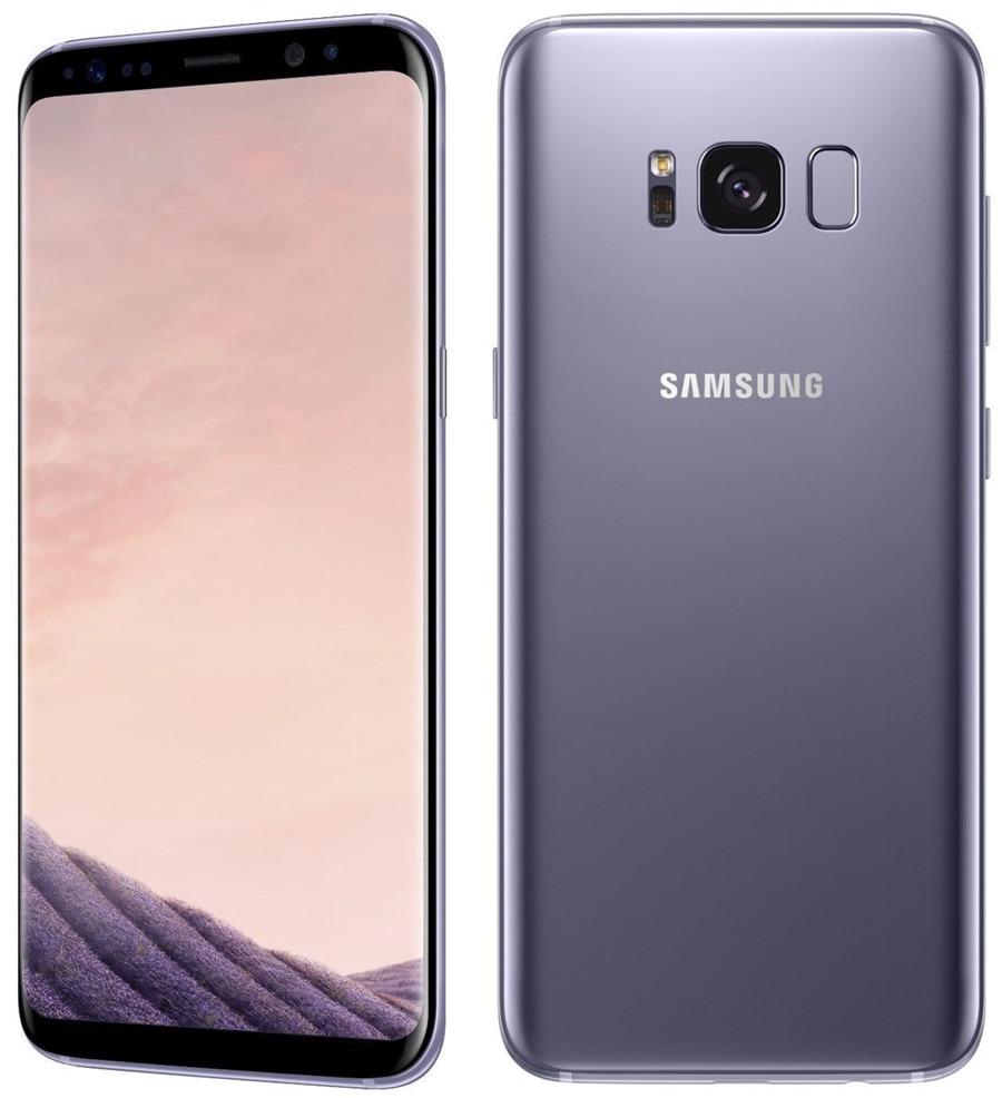 Refurbished Samsung Galaxy S8  64GB ROM+4GB RAM, 3500mAh,12+8MP, 5.8Inch  Dual sim Smartphone silver dual sim 8