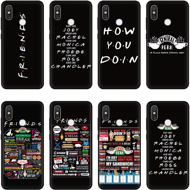 Central Perk Coffee friend tv show For Xiaomi Mi 9 8 Lite A1 5X A2 6X For TPU Redmi 6A S2 4X 4A 5A 5 Plus Note 7 6 5 Pro 4X Case