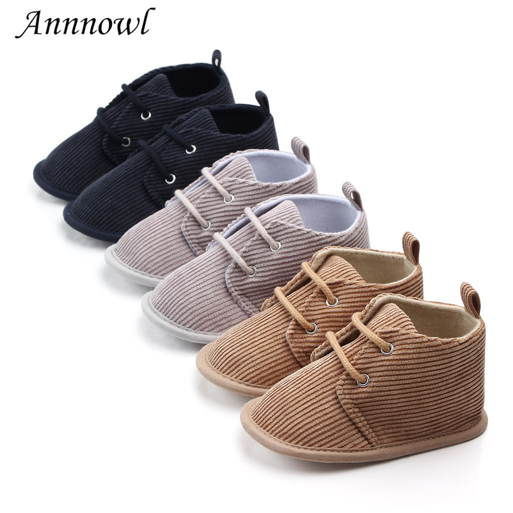 Fashion Brand Baby Boy Shoes Anti-slip Soft Sole Toddler First Walkers Infant For 1 Year Old Boys Crib Shoes Newborn Footwear