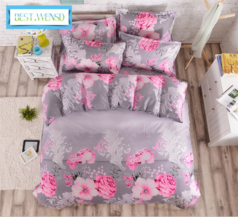 best wensd jacquard bedclothes duvet cover bedsheet. Black Bedroom Furniture Sets. Home Design Ideas