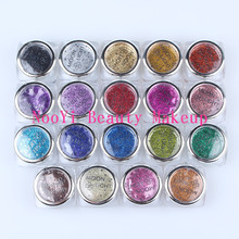 Free shipping 10 pcs High Quality Diamond Glitter Powder for Temporary tattoo / Body art paint