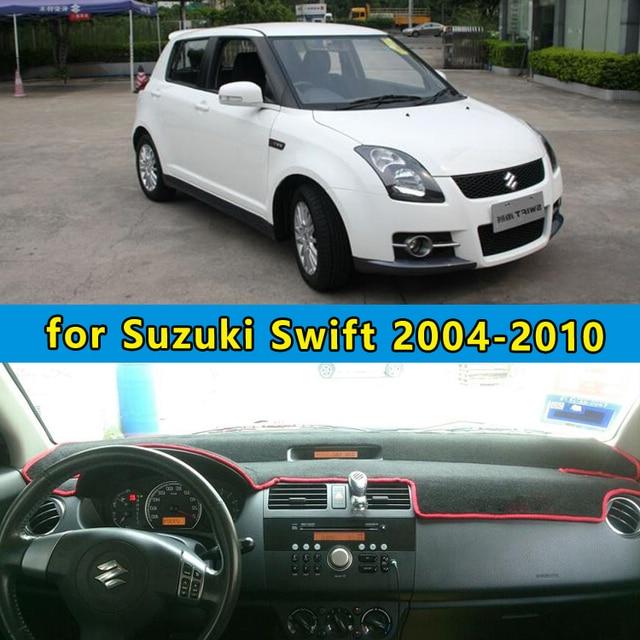 Dashmats car-styling accesorios del coche del tablero de instrumentos cubierta para Maruti Suzuki Swift Sport 2004 2005 2006 2007 2008 2009 2010