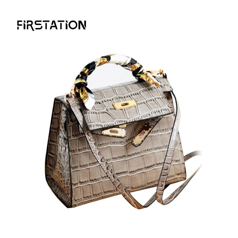 ФОТО High Quality Alligator Female Bags Handbags Women Famous Brands Mini Shoulder Bags for Girls Crossbody Bags Sac A Main Wm0548