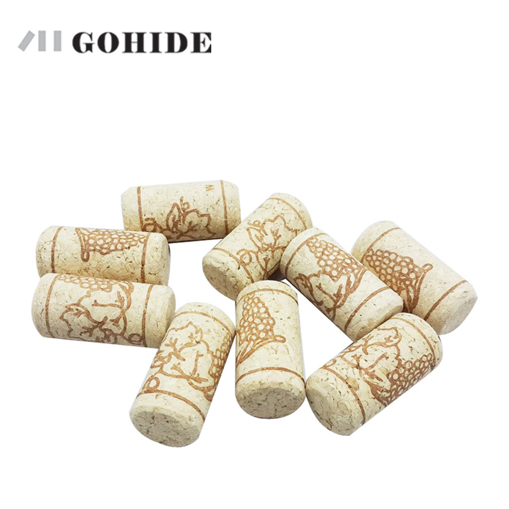 -New product with Free shipping Natural cork 1 pack = 10 pcs wine stopper wine bottle tampion sobering device slipper