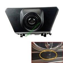 Водонепроницаемая камера ночного видения CCD для парковки с логотипом спереди для Toyota Land Cruiser, установленная под логотипом автомобиля