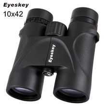 Wholesale prices Eyeskey 10×42 Binoculars 10×42 Telescopes Bak4 Prism Optics Binoculars Waterproof Camping Hunting Scopes Hunting Binocular