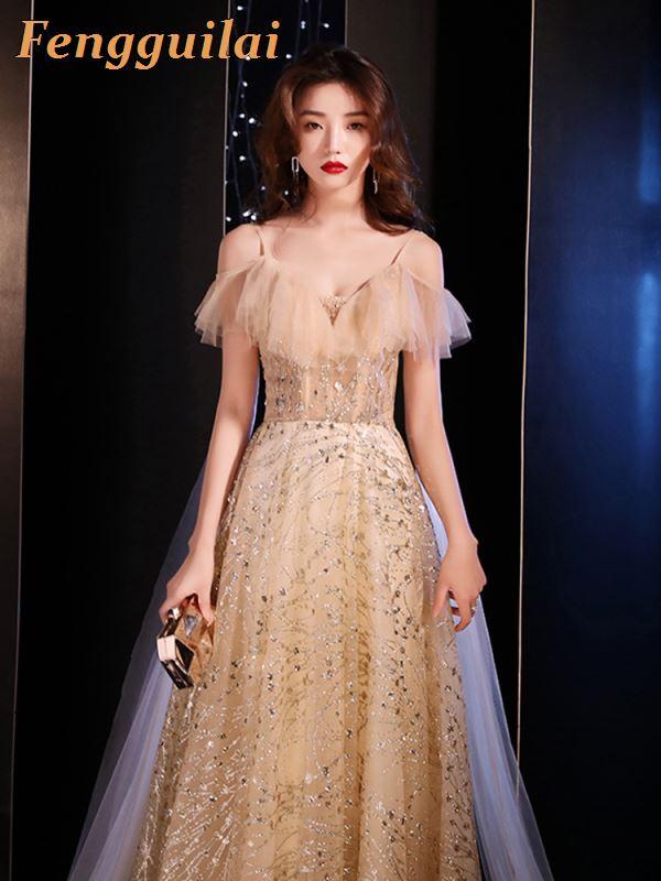 FENGGUILAI 2019 Spring Vintage Geometry Print Dress Slim Ladies Women Casual Evening Party Long Dresses