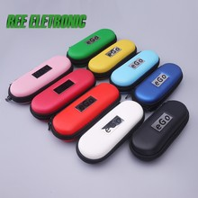 Bag Electronic hookah zipper case mini fit 1pcs evod ego cigarette Bag for e hookah high quality leather bags