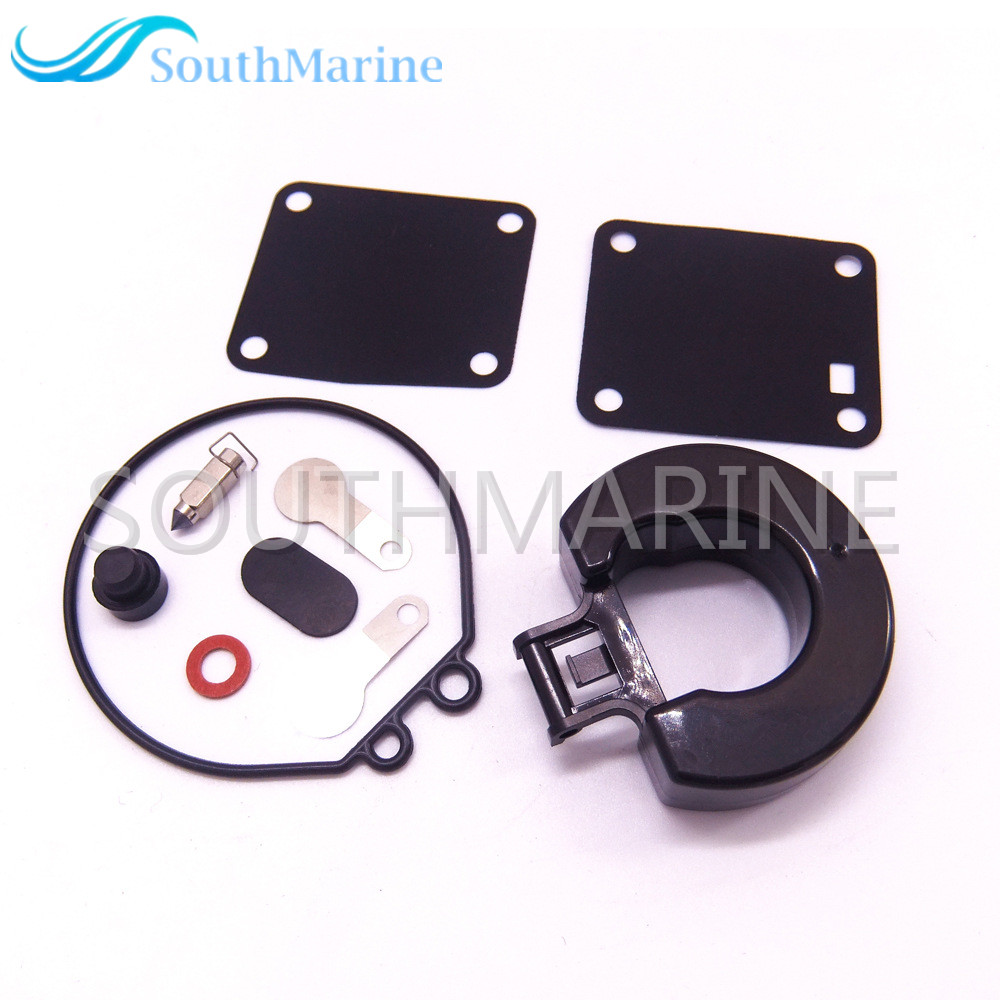 Details about 11502M Carburetor Repair Kit for Mercury Marine 2-Stroke 6HP  8HP Outboard Motor