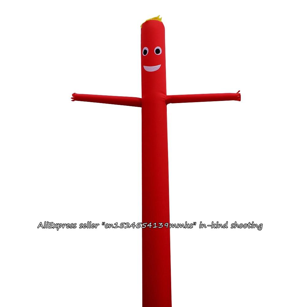 Air Dancer Sky Dancer Inflatable Tube Sky Puppet Man Puppet 20FT 6M for 45CM Blower RedAir Dancer Sky Dancer Inflatable Tube Sky Puppet Man Puppet 20FT 6M for 45CM Blower Red