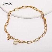GWACC 2019 New Seashell Beach Tassel Shell Bracelets For Women Bohemian Gold Jewelry