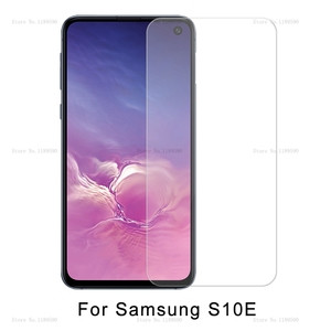 Image 1 - Gehärtetem Glas Für Samsung Galaxy S10e 9H Screen Protector Für Samsung Galaxy S10e s 10 e S10 Sicherheit Film abdeckung Protetive Glas