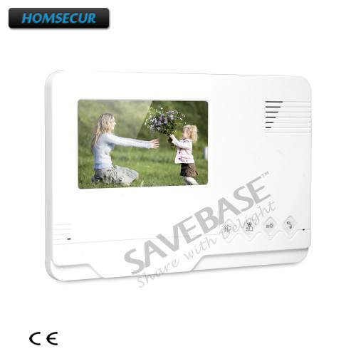 HOMSECUR 4.3 Color Indoor Monitor XM401 for Video Door Phone Intercom System homsecur 4 3 color indoor monitor xm401 for video door phone intercom system