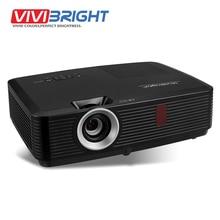 3500 ANSI Lumens LED Proyector de VIVIBRIGHT, 1024×768. proyector para los Negocios, enseñanza, de Cine En casa. PRW570-H