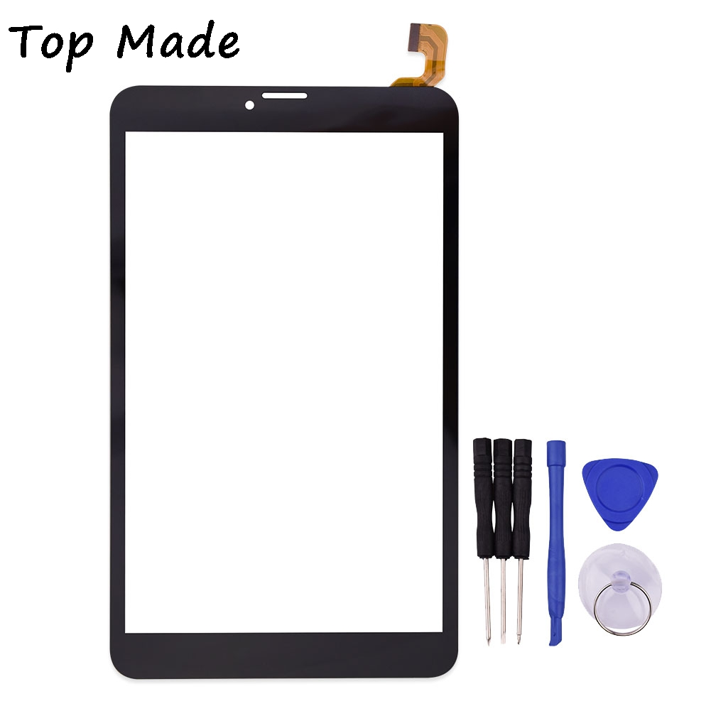 8 inch Touch Screen FK-80007 V2.0 x for Texet TM-8043 Tablet PC Glass Sensor Digitizer Replacement Parts Free Shipping for texet tm 8044 8 0 3g tablet capacitive touch screen 8 inch pc touch panel digitizer glass mid sensor free shipping