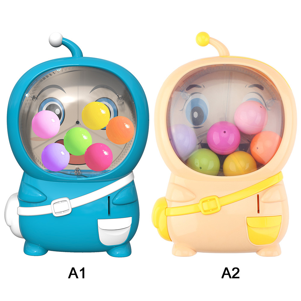 Electric Coin Operated Twisting Egg Machine Toy With Light Music Kids Children Shake Egg Lottery Machine Coin Operated Games Toy
