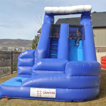 Good quality from shanghai factory inflatable water slide for sales inflatable slide with pool