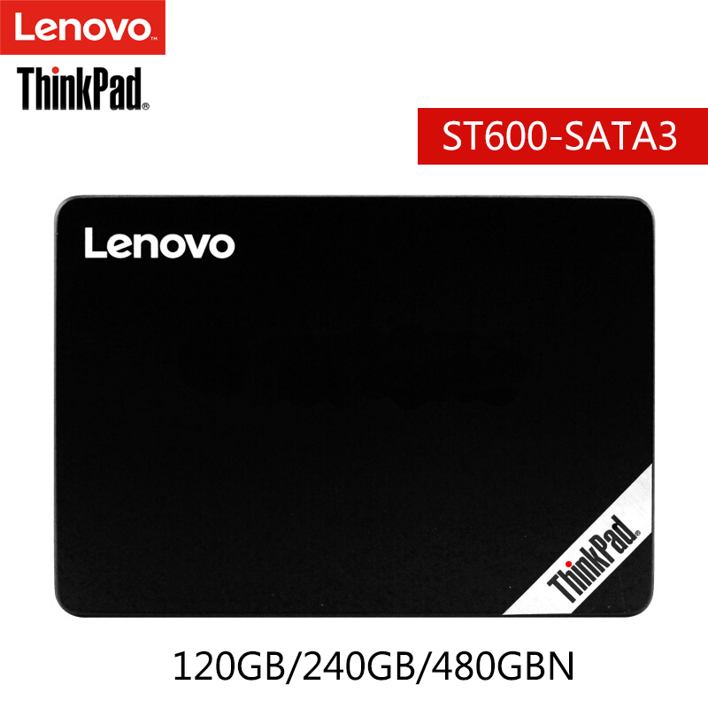 Original Lenovo SSD Internal Solid State Disk 120GB 240GB 480GB Hard Drive SATA3{6Gbps) for Laptop Desktop PC