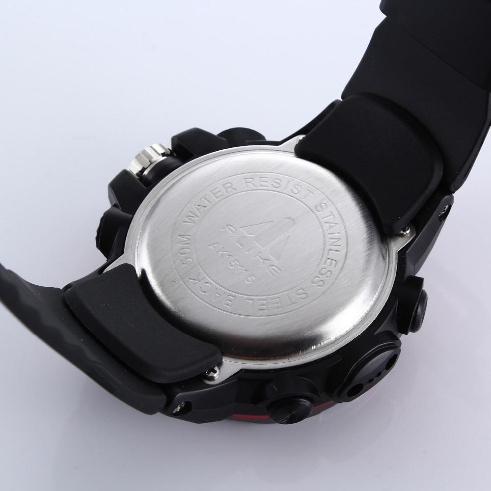 2019 Nueva Marca ALIKE Casual Reloj Hombre G Estilo Impermeable - Relojes para hombres - foto 4