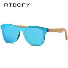 RTBOFY  2017 New Hot Wood Sunglasses Women brand designer Top quality bamboo Sun Glasses for Men UV400 Protection oculos de sol